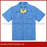Vêtements fonctionnants de jupes d'été de chemise en gros de circuit pour les hommes (W102)