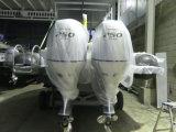 Bote de salvamento 16persons de Aqualand 30feet 9m/barco infláveis rígidos do mergulho/mergulho (RIB900)