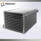 Gran coeficiente de transferencia de calor de tubo de aletas del intercambiador de calor