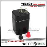 6V4ah Bateria de chumbo-ácido recarregável com marcação CE Certificado UL