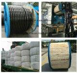 11kv Mv Service d'aluminium en polyéthylène réticulé de lignes aériennes de drop câble ABC