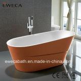 2016 la nuova vasca, vasca da bagno bianca dorata/di colore di colore, CE/Cupc ha approvato il bagno, il bacino indipendente (EW6521)