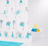 El monstruo PEVA del agua impermeabiliza la cortina de ducha para el cuarto de baño