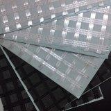 Geotextil del compuesto de Geogrid de la fibra de vidrio del poliester Combar-Que hace punto de alta resistencia