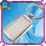 Porte-clés en blanc avec cadeau en métal