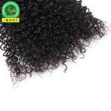 Trama non trattata superiore dei capelli umani dei capelli del Virgin del brasiliano di 100%