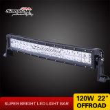 IP67 22pouces Spot Light LED 120W Barre d'éclairage incurvée