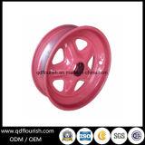 Rolamento de esferas de aço da borda da roda com os parafusos para o carrinho de mão