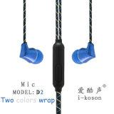 Matel patente populares auriculares con micrófono auricular de diseño
