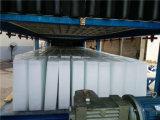 máquina de hielo de bloque 30tons/Day con '' enfriamiento directo del equipo de pesca del envase 40