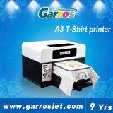 Flachbettshirt-Drucker des Garros bester Textildrucker-A3 Digital