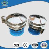 Tamiz vibratorio del diseño del arroz del coco de la harina circular rotatoria caliente de la tapioca