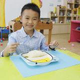 Neue wasserdichte Nahrungsmittelgroßhandelsauflage-erstklassiges Tisch-Matten-Silikon schalenförmiges Placemat