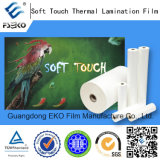 Touch macio (Velvet) BOPP Thermal Lamination Film para Luxury Packing Box