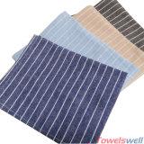 Сельское Striped полотенце тарелки кухни типа