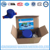 Mètre sec en plastique d'écoulement d'eau de cadran