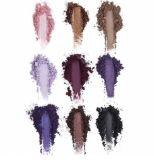 Kylie 9 colores impermeabiliza el sombreador de ojos del polvo presionado
