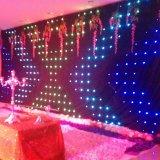 3*3m RGB полноцветный светодиодный занавес Vison ткань для этапа фоне
