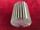 Venda de fábrica 6063 T5 Perfil de dissipador de calor anodizado de extrusão de extrusão