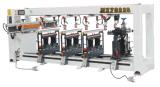 Lignes en bois aléseuse multi de machine de travail du bois de machines-outils cinq