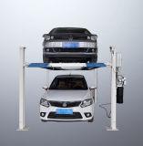 Горячий подъем стоянкы автомобилей двойных слоев столба сбывания 4 автоматический