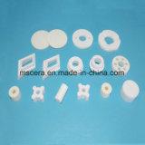 Puntale di ceramica del tubo dell'allumina Al2O3 di 94%