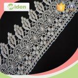 Varios tipos de cordón de mezcla del producto químico de la tela del modelo de flor