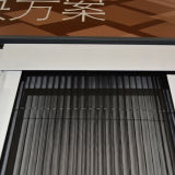 Perfil de alumínio tela de janela invisível, rede de mosquito K06025
