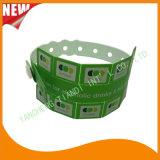 Entertainment Ficha 10 pulseras de plástico de vinilo brazalete de identificación (E6070-10-3)