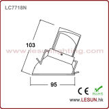Handelsbeleuchtung-hohe Leistung LED PFEILER Downlight 8W LC7718n