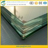 Taille de livre 10mm transparente intercalaire du verre de sécurité pour le grand édifice