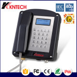 De nieuwe Weerbestendige Telefoon van de Telefoon Iexex van de Telefoon Knex1 van Exproof van het Ontwerp