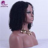 Nuevo Afro chino rizado cabello virgen peluca de encaje completo