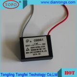 Condensateur de climatiseur de condensateur du condensateur Cbb61 de moteur à courant alternatif