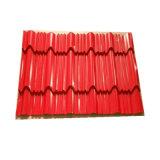 PPGI tuile de toit en acier/toiture feuille/toiture prépeint la feuille de fer