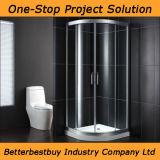Hotel salle de bain douche avec salle de douche en alliage en aluminium