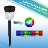 LED de mudança de cores decorativas jardim relvado de Luz Solar