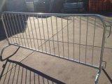 Cerca de acero para la barrera del camino del control de muchedumbre para la alerta