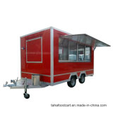 L'extérieur, de la rue de la remorque alimentaire Mobile Mobile camions alimentaire