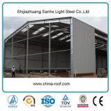 Estructuras de acero del metal de la Pre-Ingeniería del proyecto del surtidor de China para el almacén