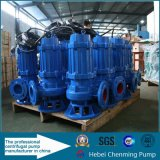 Pompe submersible industrielle de grandes à eau eaux d'égout électriques centrifuges des pompes 100m3/H