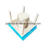 Haute qualité court Panier à linge moule en plastique avec couvercle