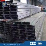 Purlins galvanizados do frame da seção da construção de aço C