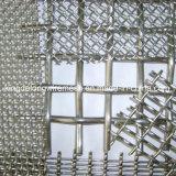 Quetschverbundener quadratischer dekorativer holländischer Edelstahl quetschverbundener Maschendraht