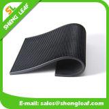 China-Förderung passen Firmenzeichen-schwarze Gummistab-Kostenzähler-Matte an