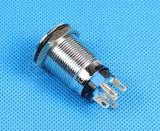 Commutateur de lumière à bouton-poussoir lumineux étanche, bouton-poussoir (LAS1-19F-11E)