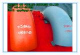 Polished санитарный приклад нержавеющей стали 30 локоть сваренный градусами