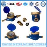 Multi Jet tipo seco del contador del agua, Tipo medidor de agua Mecánica