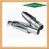 Tubo de manguito de mecanizado CNC, Torno CNC de piezas mecánicas de gran tamaño, el CNC de piezas de forja