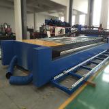 Machine ronde carrée d'inscription de gravure de découpage de tube en métal